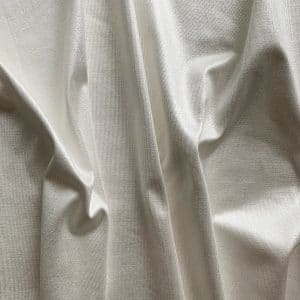 WHITE POLISHED JERSEY FABRIC