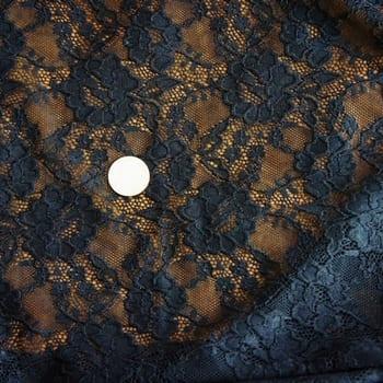 Black Wide Width Lace Fabric