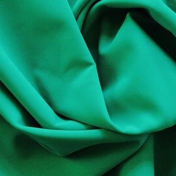 Matte Green Italian Nylon Lycra Fabric