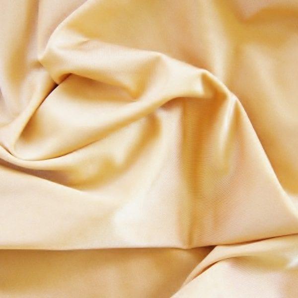 Shiny Nude Nylon Lycra Fabric