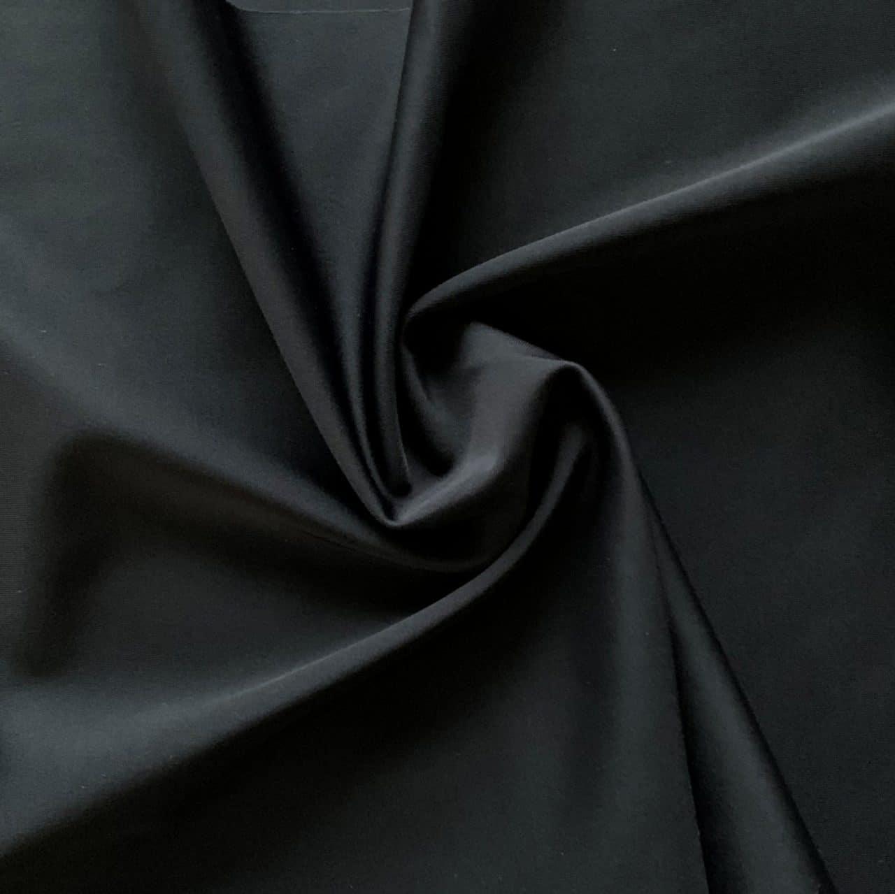 Carvico Matte Nylon Lycra – Nero (Black)