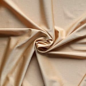 Shiny Nude Nylon Lycra Fabric