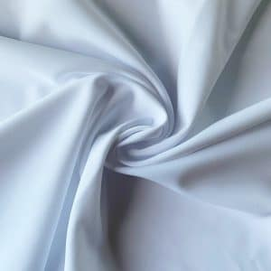 Matte White Italian Swimwear Fabric