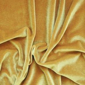 Gold Velvet Fabric
