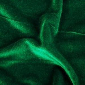 Forest Green Velvet Fabric