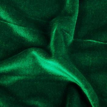 Forest Green Velvet Fabric