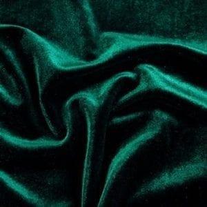 Mallard green velvet fabric