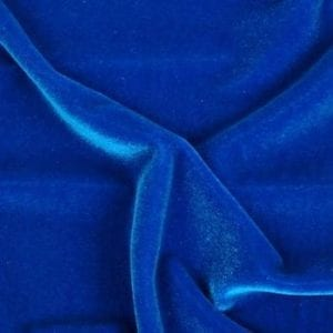 Blue Velvet Fabric
