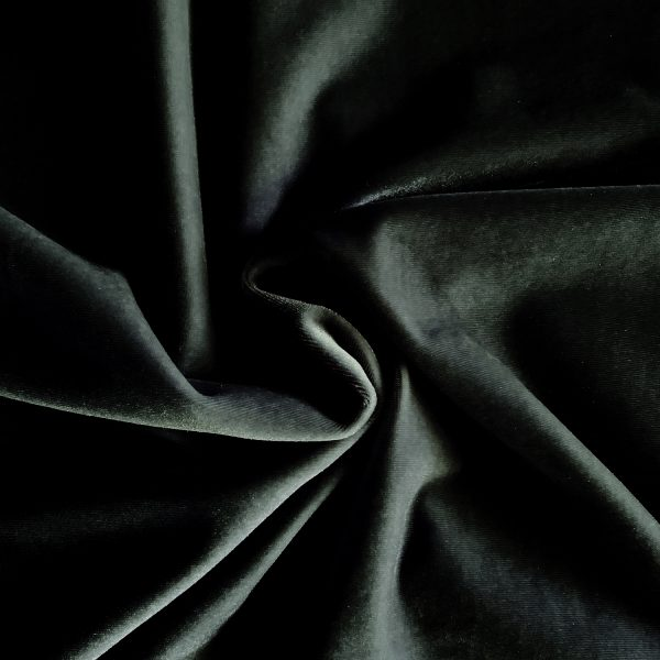 Solid Black Velvet Fabric - Velvet Fabrics By The Yard - Solid Stone Fabrics, Inc.
