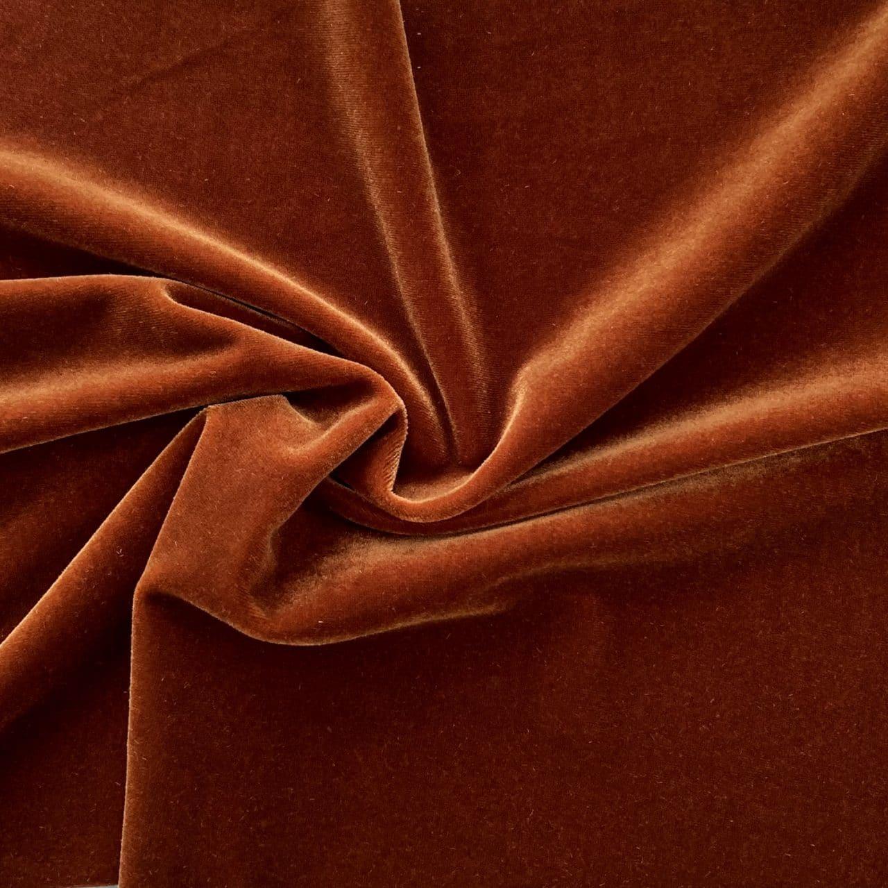 Dance Solid Velvet – Cognac Brown