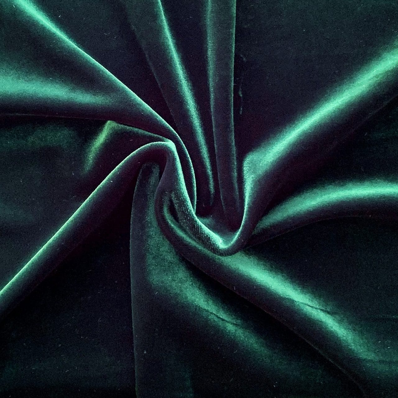 Dance Solid Velvet – Forest Green