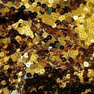 Full Coverage Gold Sequin Fabric