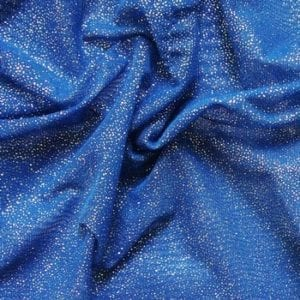 Foil glitter mesh fabric featuring solid color stretch mesh base fabric topped with foil glitter. Perfect fabric for dance, recital, gymnastics, ice skating, apparel, costume, cosplay, apparel and more. Huge selection of stretch and non-stretch mesh and tulle fabrics in a variety of styles, finishes and colors. Perfect for dance, swim, cheer, bows, gymnastics, figure skating, costume, cosplay, apparel and more. Fabric sold by the yard or roll at no minimum.