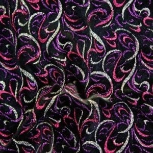 Glitter Velvet fabric for sale by the yard. Many styles and colors, all available at no minimum order. Wide width. Plush velvet fabric perfect for dance, swim, recital, costume, theater, costume and more. Velvet stretch fabrics sold by the yard or roll. Huge selection of stretch fabric with sequins in a variety of styles, finishes and colors. Perfect for dance, swim, cheer, bows, gymnastics, figure skating, costume, cosplay, apparel and more.