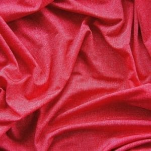Red Denim Print Fabric