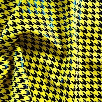 Houndstooth – Yellow/Black
