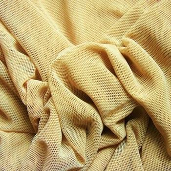 Nude Fishnet Mesh Fabric