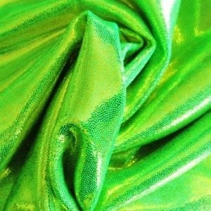 Lime Green Mystique Spandex Fabric