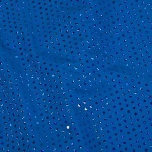 Trans Knit Sequin Fabric - Royal Blue