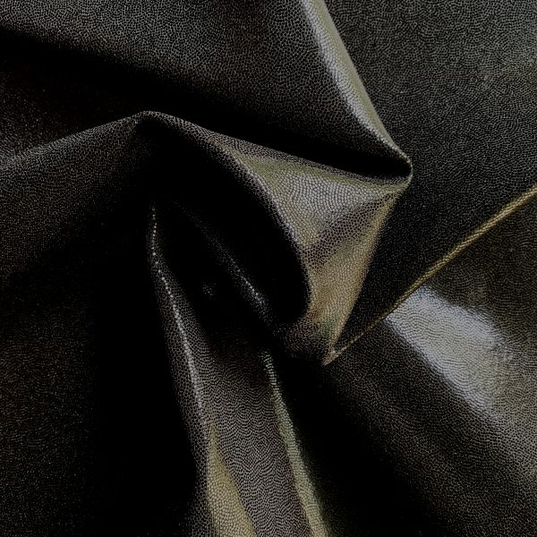 Black Mystique Spandex Fabric is perfect for dance, cheer, bows, gymnastics, figure skating, costume, cosplay, apparel and more. - Solid Stone Fabrics, Inc. - Fabric By The Yard