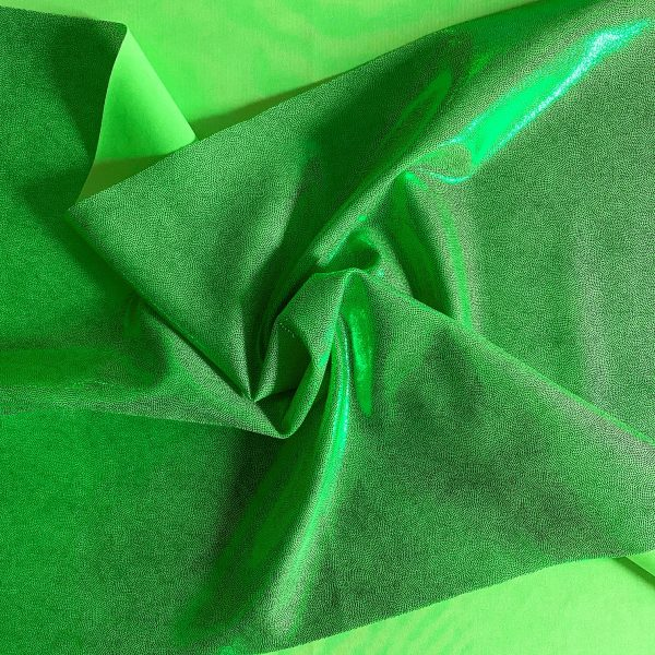 Green Mystique Stretch Fabric By The Yard - Online Fabric Shop