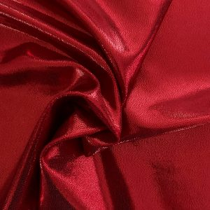 Red Mystique Spandex Fabric is perfect for dance, cheer, bows, gymnastics, figure skating, costume, cosplay, apparel and more. - Solid Stone Fabrics, Inc. - Fabric By The Yard