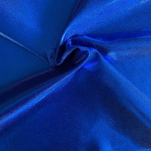 Royal Blue Mystique Cheer Bow Fabric is perfect for dance, cheer, bows, gymnastics, figure skating, costume, cosplay, apparel and more.