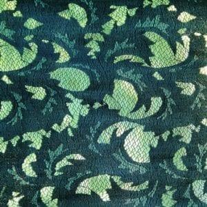 Odessa Lace - Blue lace fabric