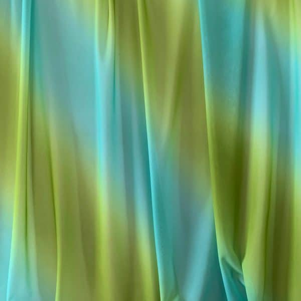 Green Ombre Mesh Fabric
