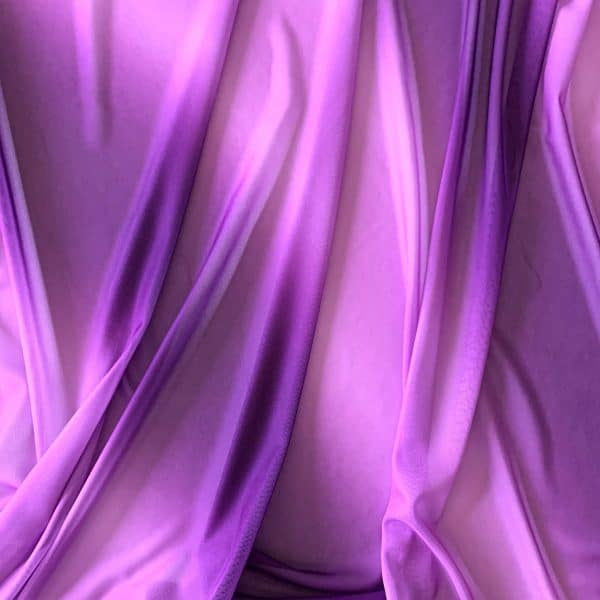 Purple Ombre Mesh Fabric