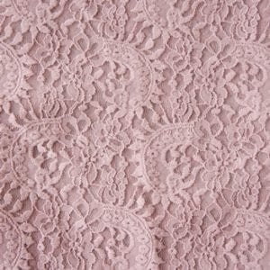 Pink Wide Width Lace Fabric