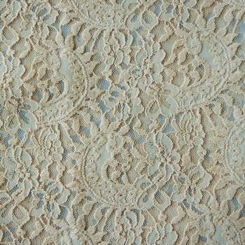 Nude Stretch Lace Fabric