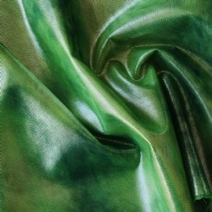 Green Tie Dye Mesh Fabric