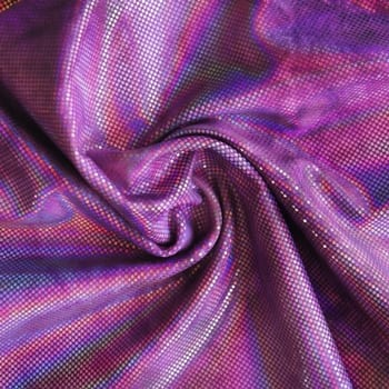 Purple Tie Dye Spandex Fabric