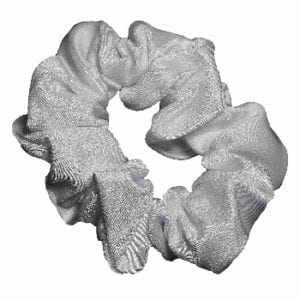White Mystique Hair Scrunchie