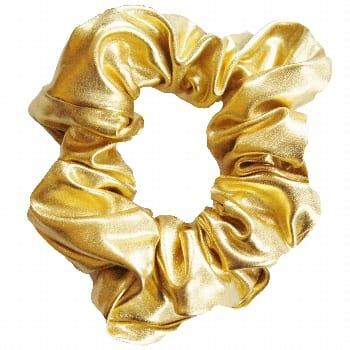 Scrunchie – Liquid Foil – Gold