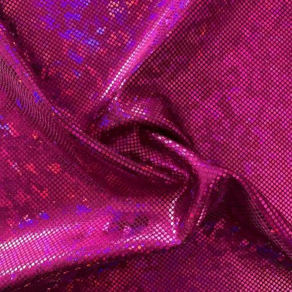 Fuchsia Broken Glass Fabric - SOLID STONE FABRICS, INC.