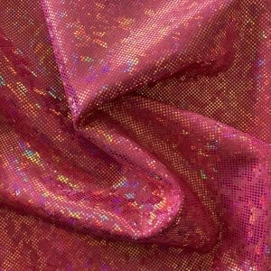 Gold Pink Shattered Glass Fabric - SOLID STONE FABRICS, INC.