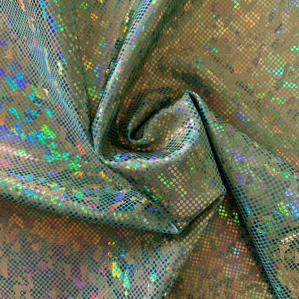Mint Green Shattered Glass Fabric - SOLID STONE FABRICS, INC.