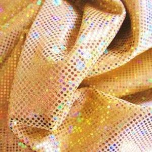 Gold Broken Glass Fabric
