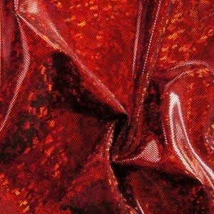 Shattered Glass Hologram - Red/Black