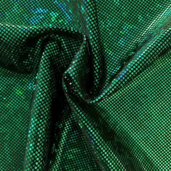 Kelly Green Shattered Glass Fabric - SOLID STONE FABRICS, INC.