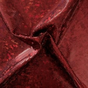 Red Broken Glass Fabric - SOLID STONE FABRICS, INC.