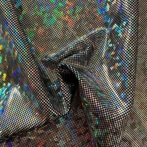 Silver Broken Glass Fabric - SOLID STONE FABRICS, INC.