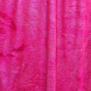 Spectacular - Fuchsia Glitter Tie Dye features tie dye stretch fabric topped with silver foil glitter for brilliant sparkle and shine.