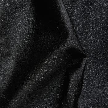 Black Glitter Foil Fabric - SOLID STONE FABRICS, INC.