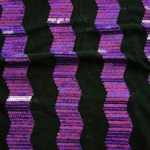 PURPLE SEQUIN MESH FABRIC BY THE YARD