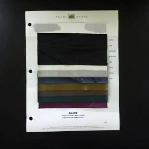 ALLURE POLISHED JERSEY FABRIC SWATCHES