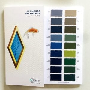 Matte Carvico Swimwear Fabric Swatches