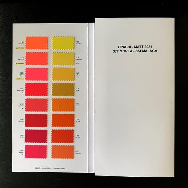 CARVICO MALAGA MATTE SWATCH BOOK - NEW 2020-2021 - ITALIAN SWIMWEAR FABRIC SWATCHES - SOLID STONE FABRICS, INC. - STRETCH AND PERFORMANCE FABRICS AND CUSTOM FABRIC PRINTERS SINCE 2003